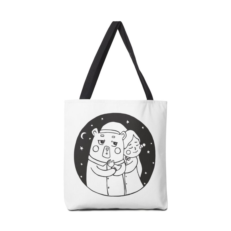 Bear With Me Accessories Bag by The Primate Design