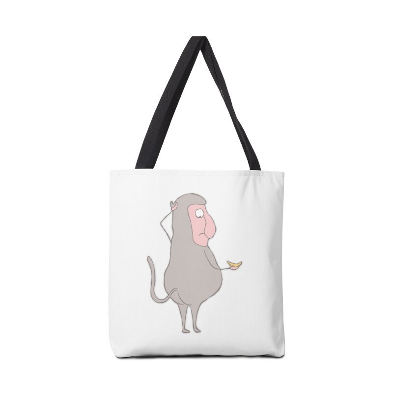Mr.Probo series: I can't eat banana Accessories Bag by The Primate Design