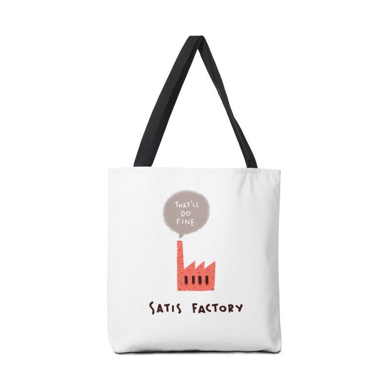 Satis Factory Accessories Bag by The Pun Shop