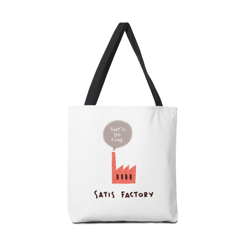 Satis Factory Accessories Tote Bag Bag by The Pun Shop