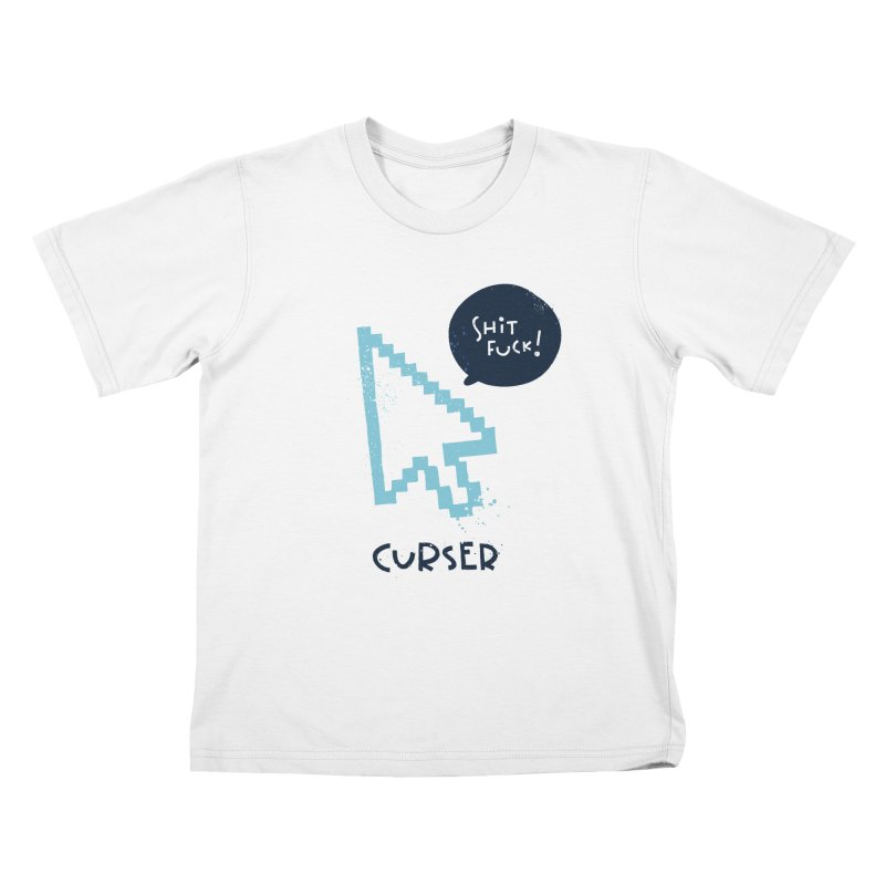 Curser Kids T-Shirt by The Pun Shop