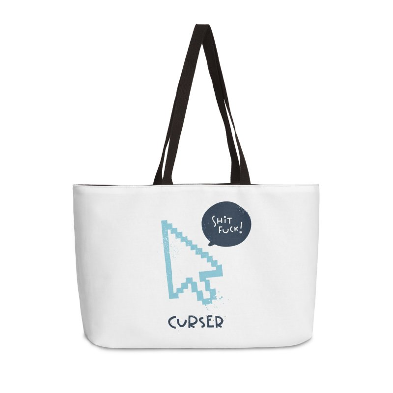 Curser Accessories Weekender Bag Bag by The Pun Shop