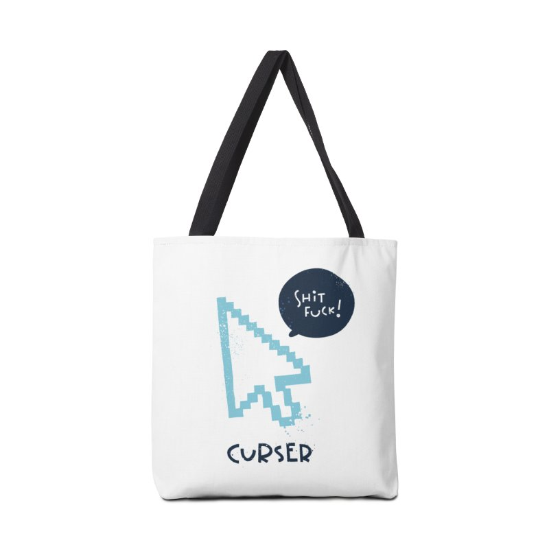 Curser Accessories Tote Bag Bag by The Pun Shop