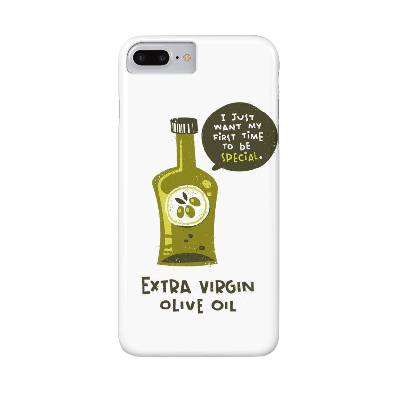 Extra Virgin Accessories Phone Case by The Pun Shop