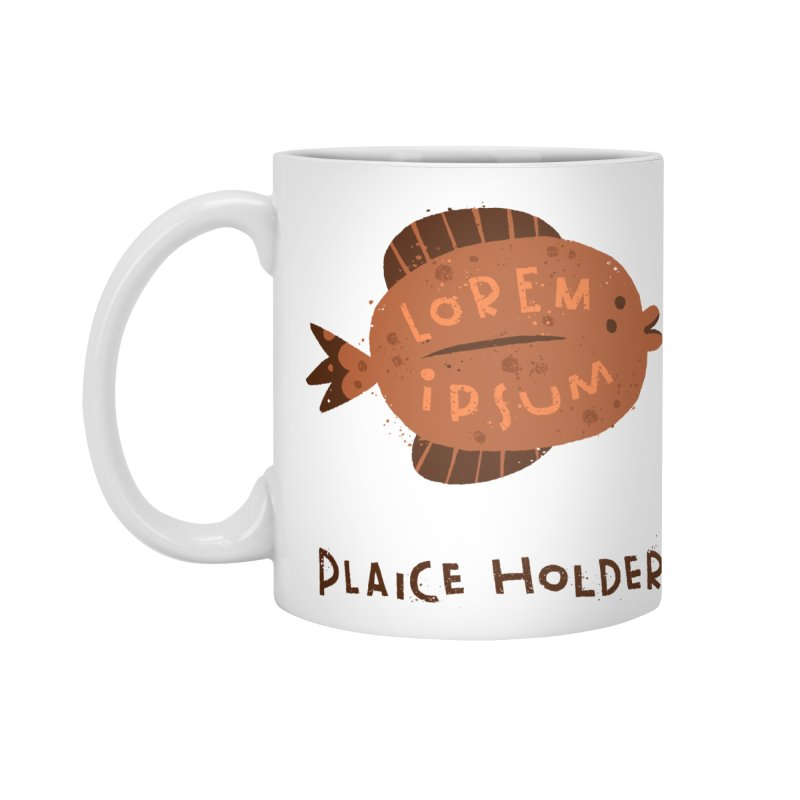 Plaice Holder Accessories Standard Mug by The Pun Shop