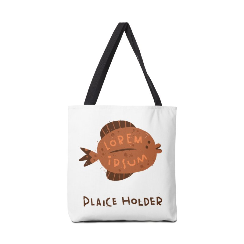 Plaice Holder Accessories Bag by The Pun Shop