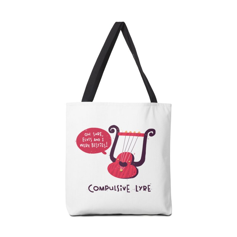 Compulsive Lyre Accessories Tote Bag Bag by The Pun Shop