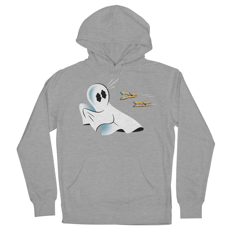 A Fearful Phantom — APPAREL Men's French Terry Pullover Hoody by The Pure Bluff