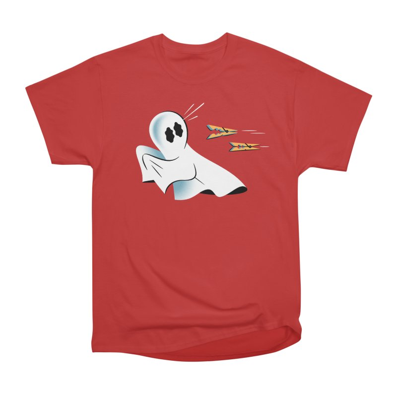 A Fearful Phantom — APPAREL Men's Heavyweight T-Shirt by The Pure Bluff