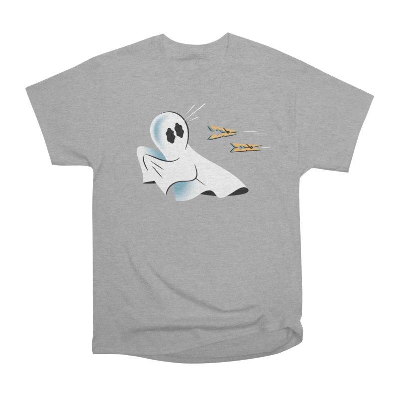 A Fearful Phantom — APPAREL Men's Heavyweight T-Shirt by The Pure Bluff