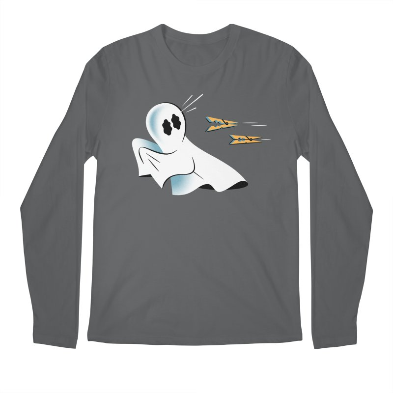 A Fearful Phantom — APPAREL Men's Longsleeve T-Shirt by The Pure Bluff
