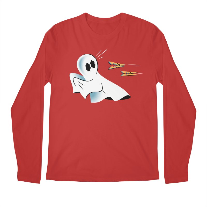 A Fearful Phantom — APPAREL Men's Regular Longsleeve T-Shirt by The Pure Bluff