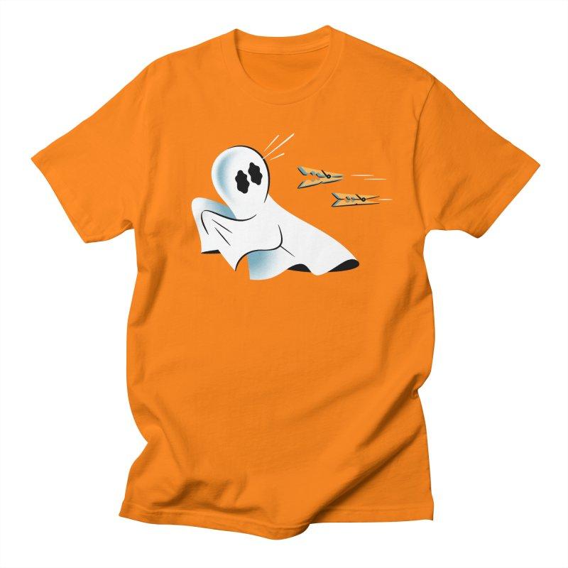 A Fearful Phantom — APPAREL Women's Regular Unisex T-Shirt by The Pure Bluff
