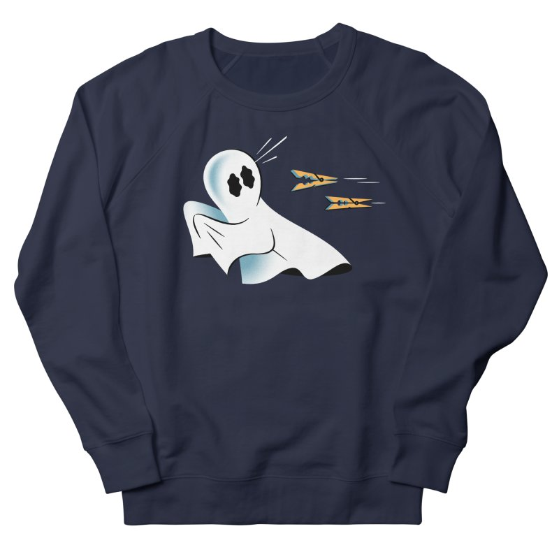 A Fearful Phantom — APPAREL Women's French Terry Sweatshirt by The Pure Bluff