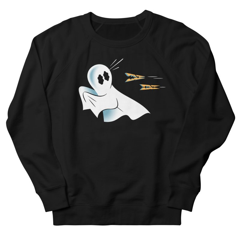 A Fearful Phantom — APPAREL Men's French Terry Sweatshirt by The Pure Bluff