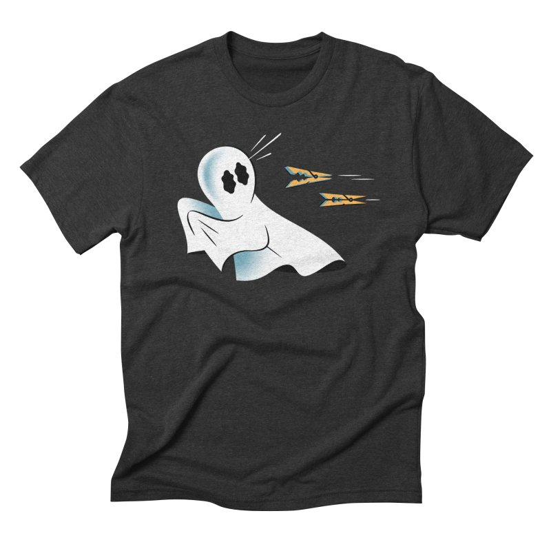 A Fearful Phantom — APPAREL Men's Triblend T-Shirt by The Pure Bluff
