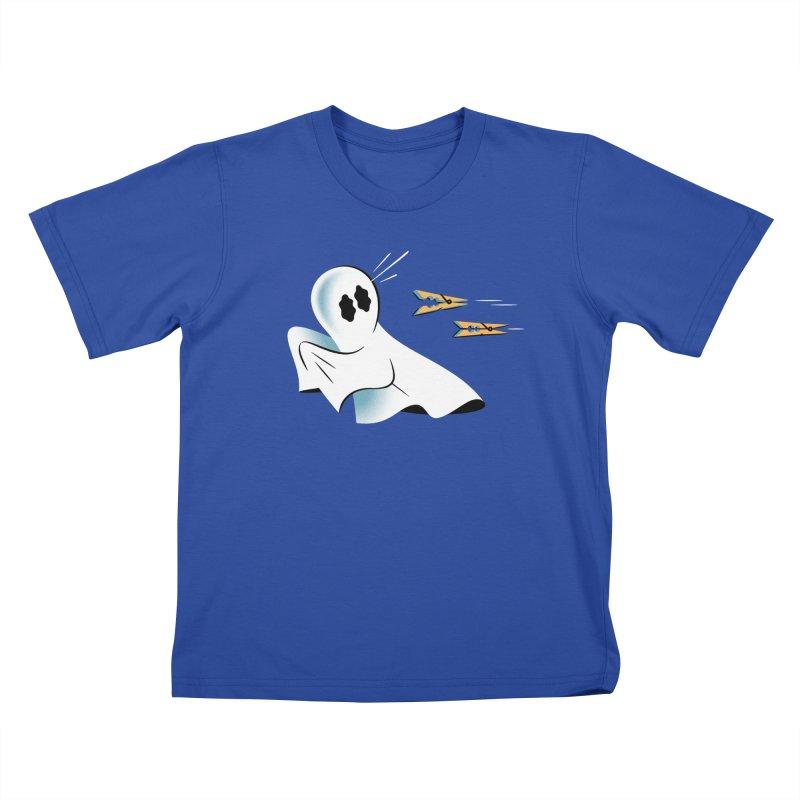 A Fearful Phantom — APPAREL Kids T-Shirt by The Pure Bluff