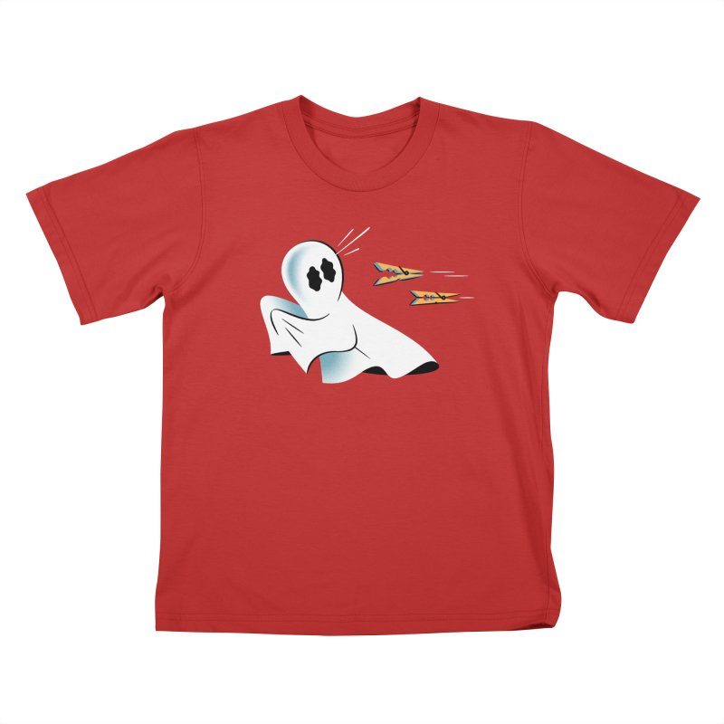 A Fearful Phantom — APPAREL Kids T-Shirt by The Pure Bluff
