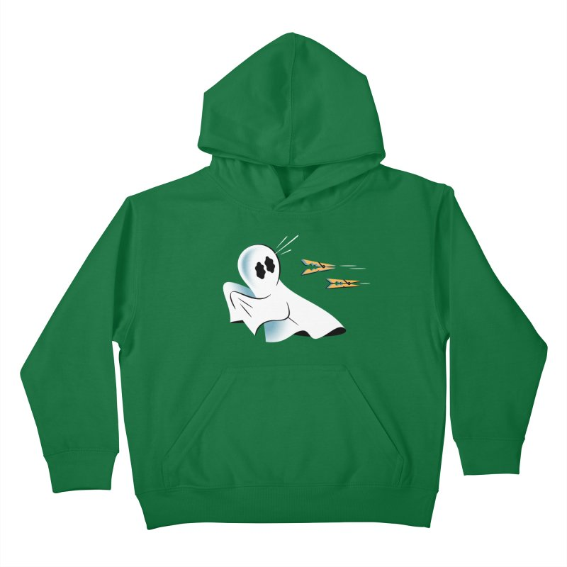A Fearful Phantom — APPAREL Kids Pullover Hoody by The Pure Bluff