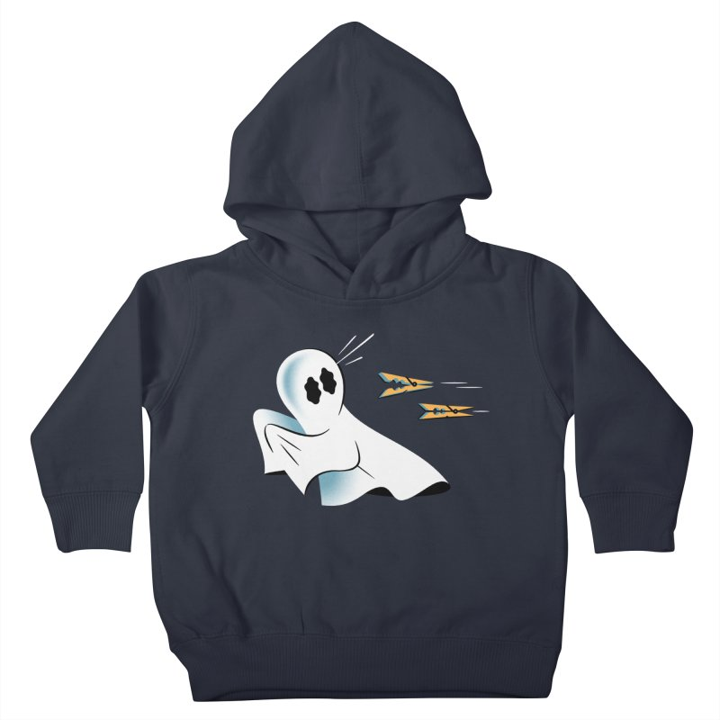 A Fearful Phantom — APPAREL Kids Toddler Pullover Hoody by The Pure Bluff
