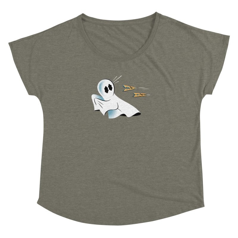 A Fearful Phantom — APPAREL Women's Dolman Scoop Neck by The Pure Bluff