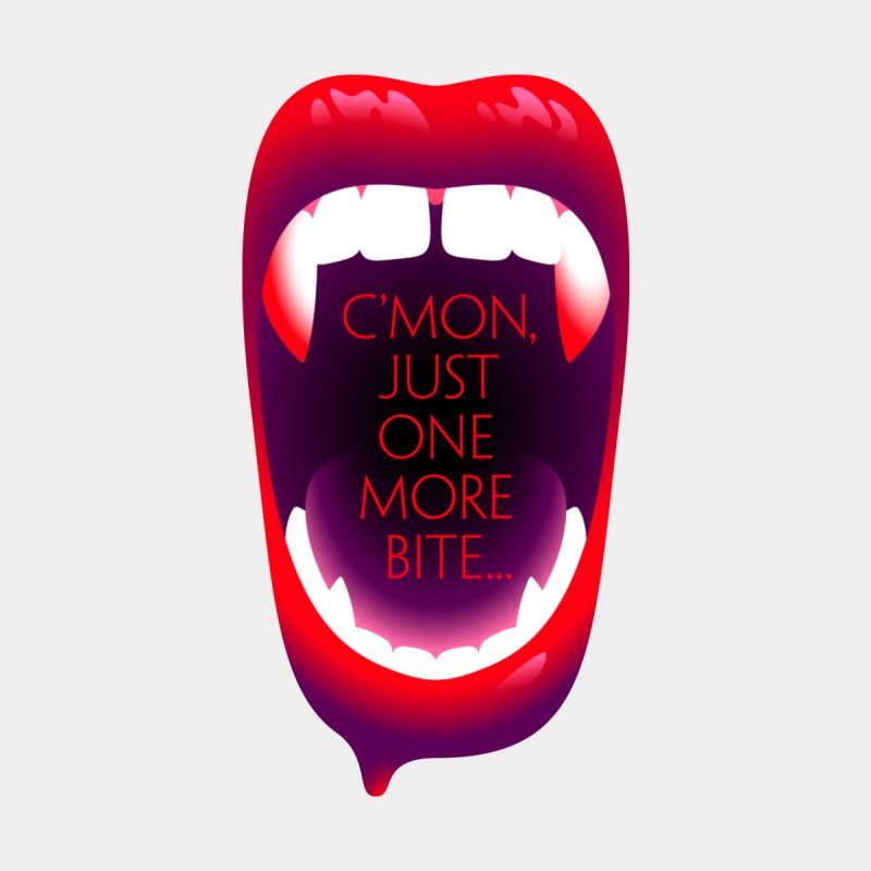 One More Bite — APPAREL Women's T-Shirt by The Pure Bluff