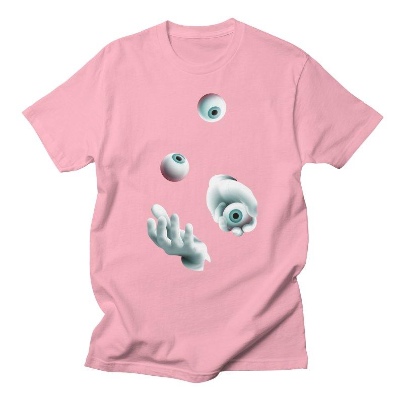 Eyeball Juggler — APPAREL Men's Regular T-Shirt by The Pure Bluff