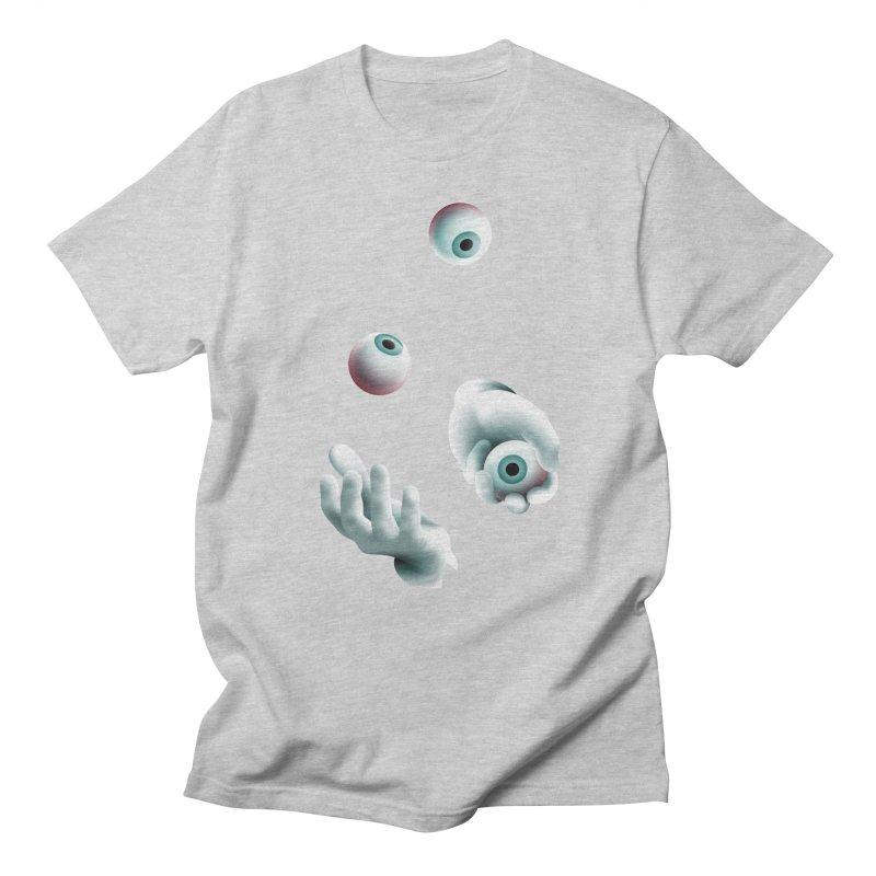 Eyeball Juggler — APPAREL Women's Regular Unisex T-Shirt by The Pure Bluff