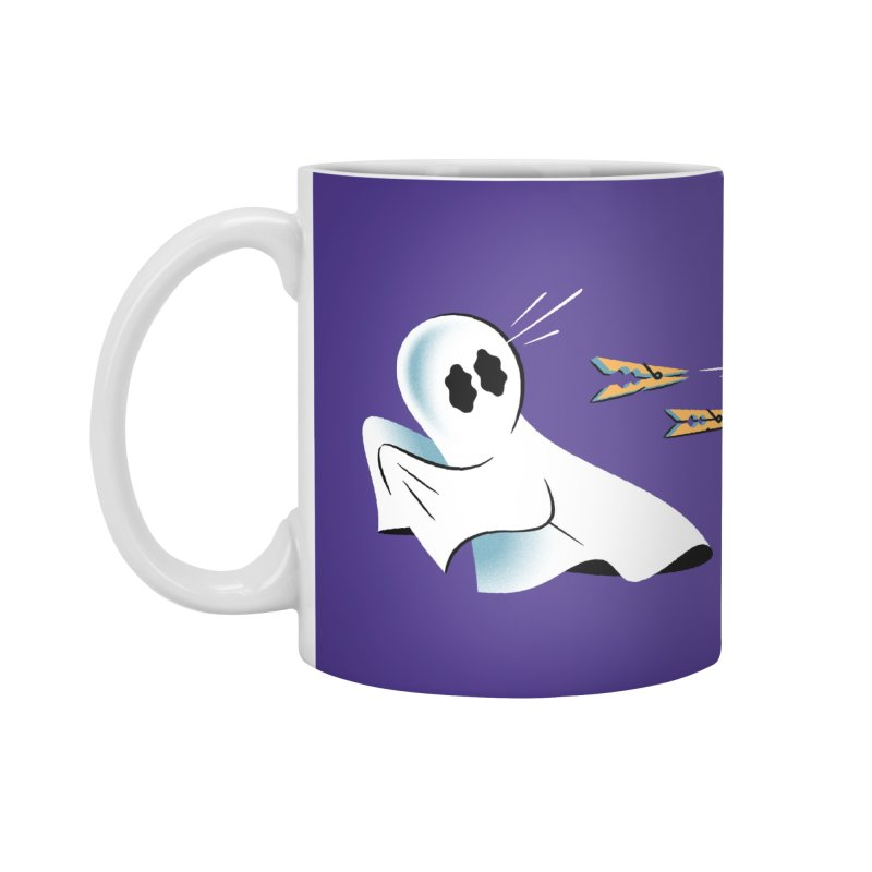 A Fearful Phantom (Purple) Accessories Standard Mug by The Pure Bluff
