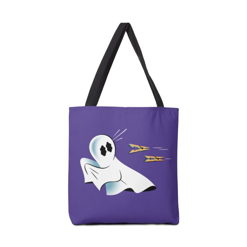 A Fearful Phantom (Purple) Accessories Bag by The Pure Bluff