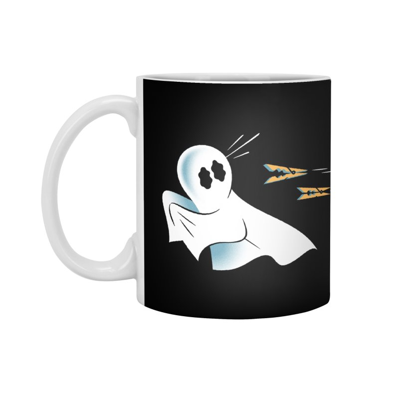A Fearful Phantom (Black) Accessories Standard Mug by The Pure Bluff