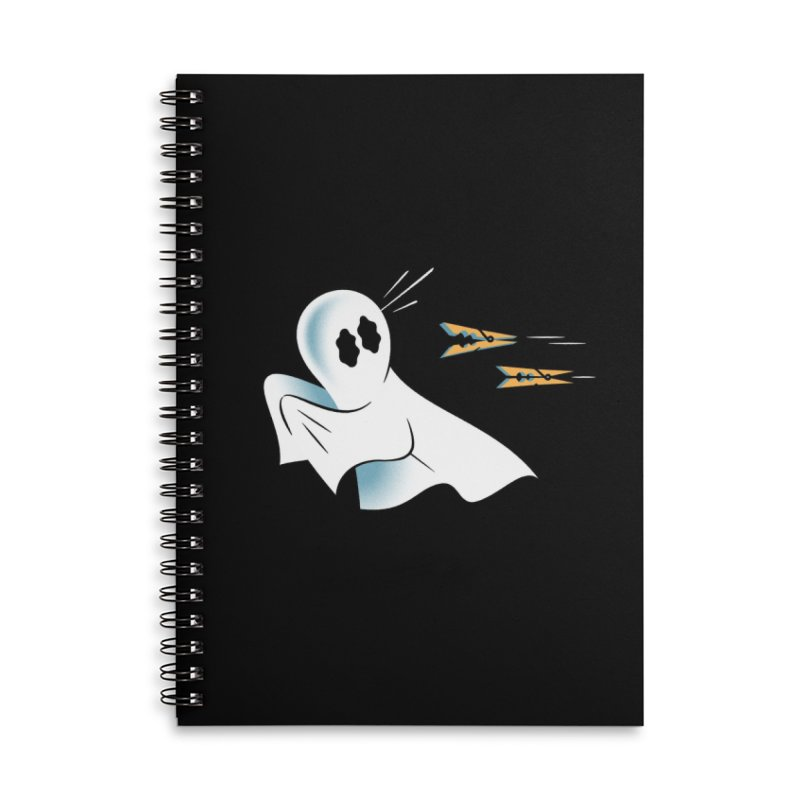 A Fearful Phantom (Black) Accessories Notebook by The Pure Bluff