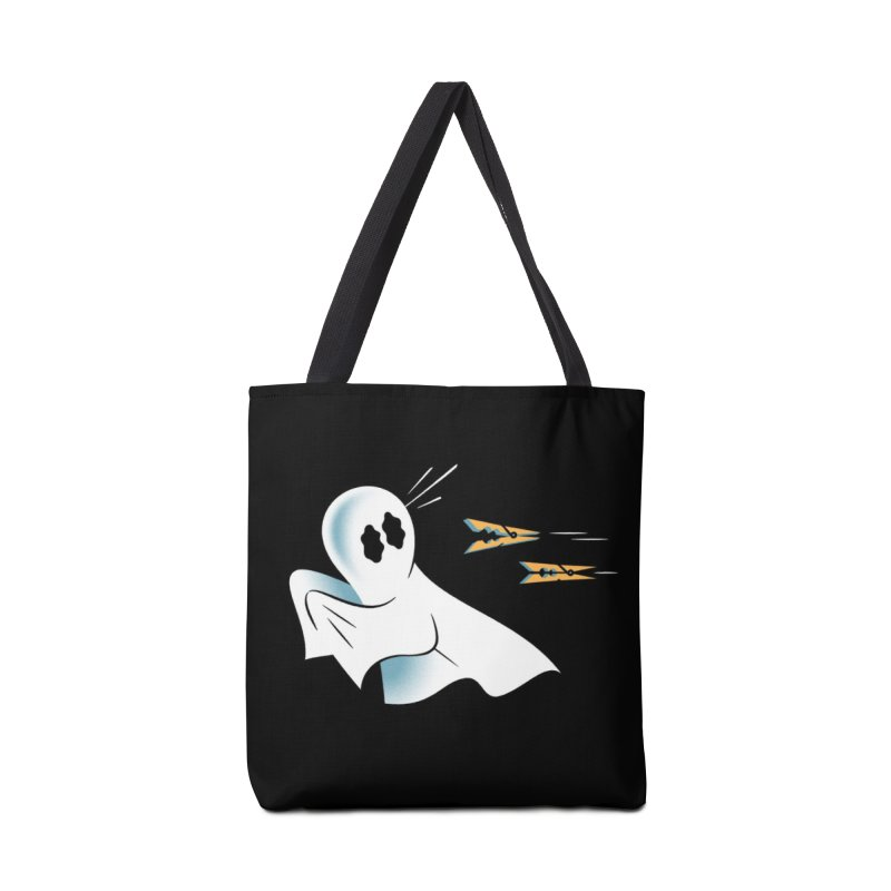 A Fearful Phantom (Black) Accessories Tote Bag Bag by The Pure Bluff