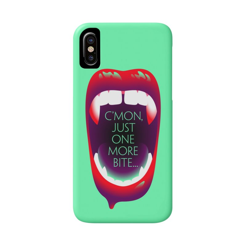 One More Bite (Mint) Accessories Phone Case by The Pure Bluff