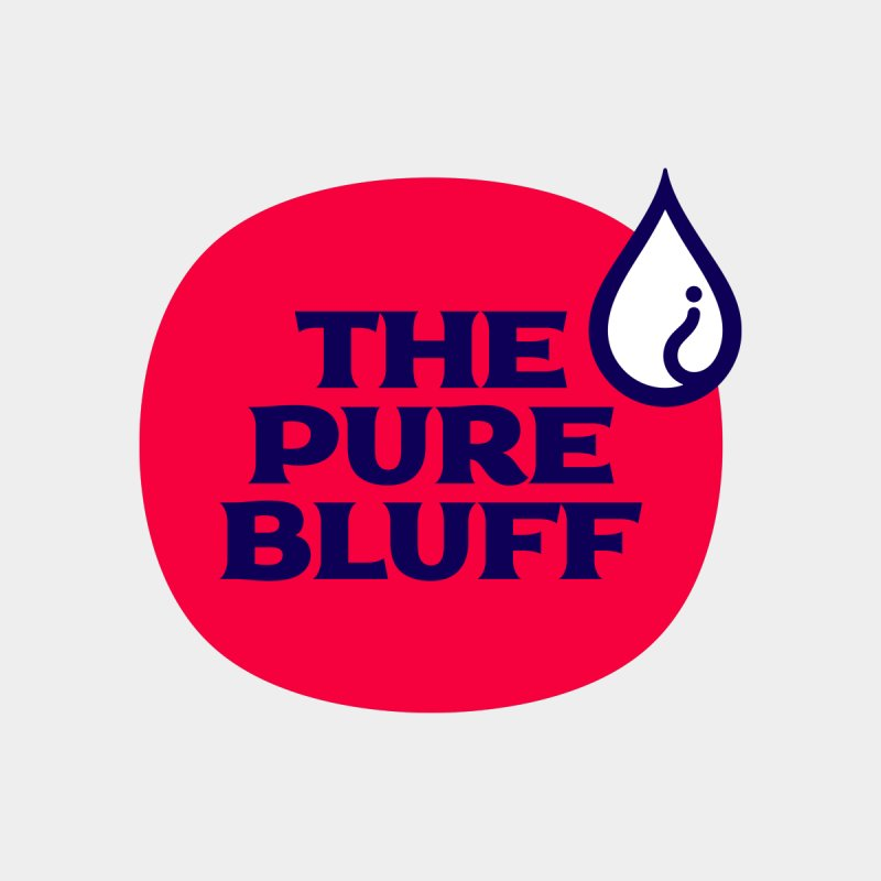 The Pure Bluff Logo — APPAREL Men's Sweatshirt by The Pure Bluff
