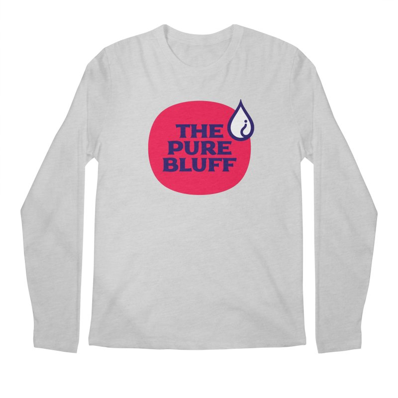 The Pure Bluff Logo — APPAREL Men's Regular Longsleeve T-Shirt by The Pure Bluff