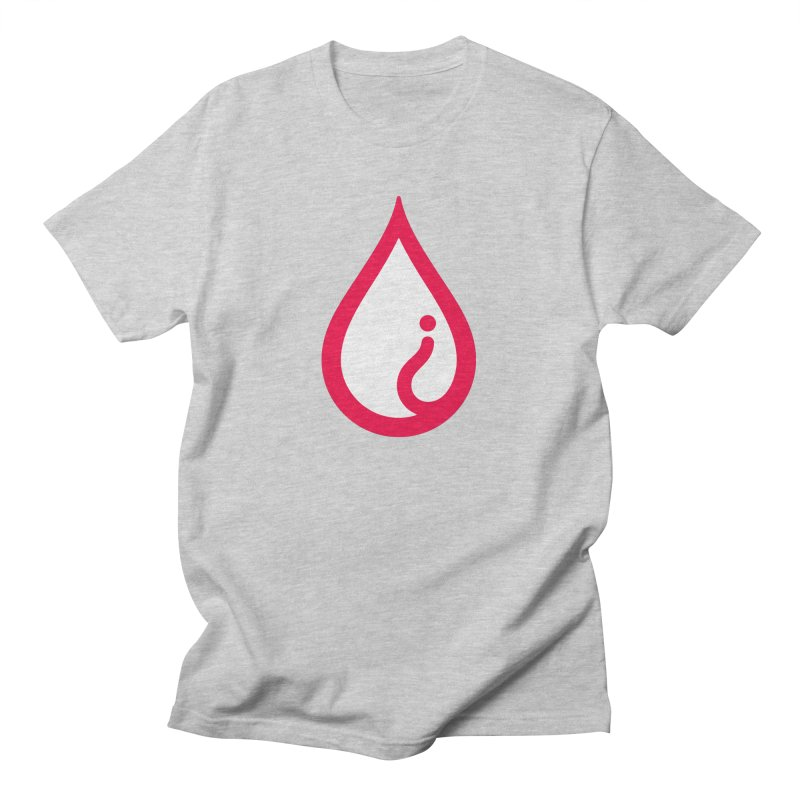 The Pure Bluff Drop Icon (Red) — APPAREL Men's T-Shirt by The Pure Bluff