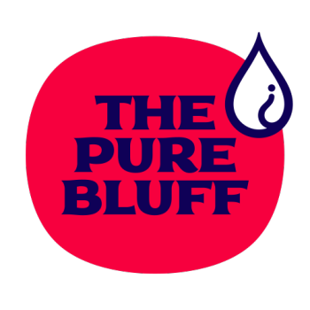 The Pure Bluff Logo