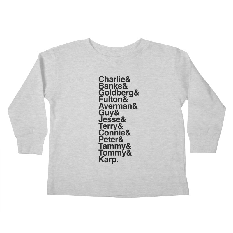 The Originals Kids Toddler Longsleeve T-Shirt by The Quack Attack