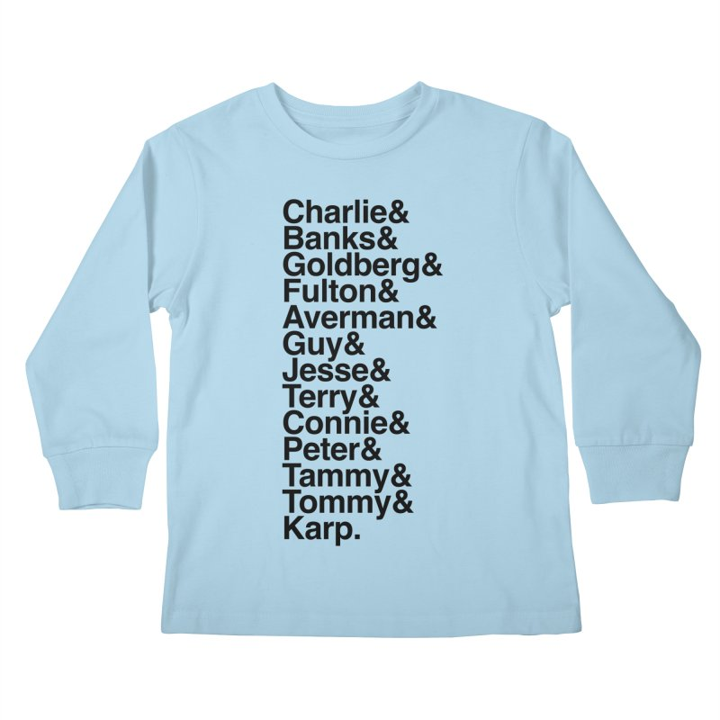 The Originals Kids Longsleeve T-Shirt by The Quack Attack
