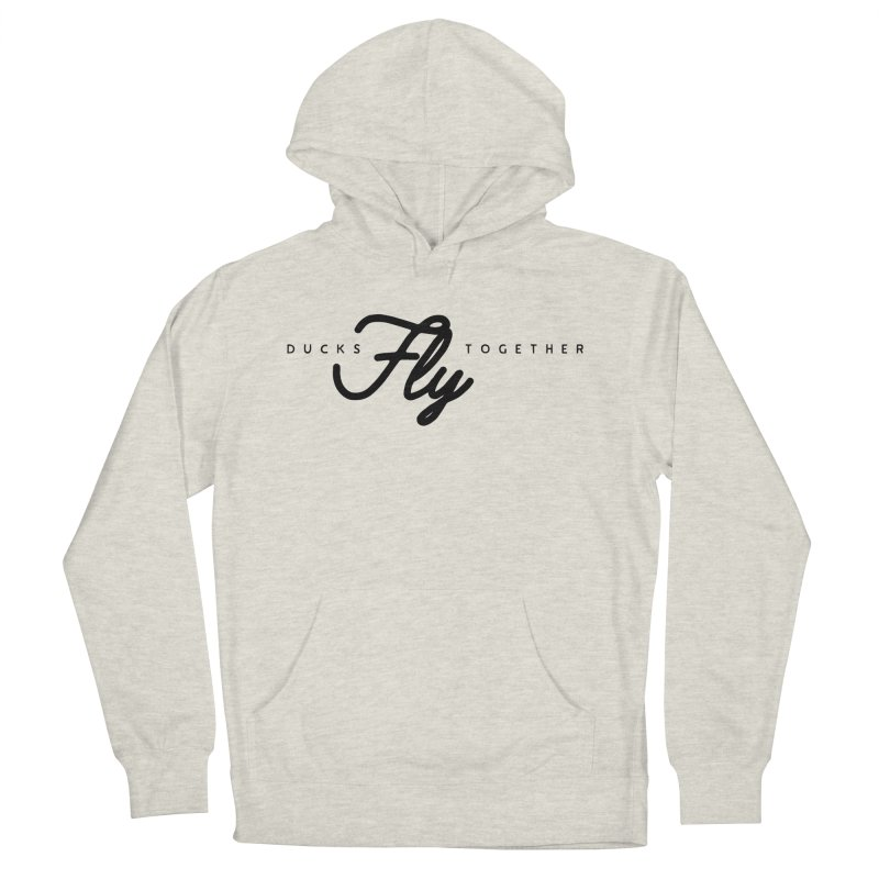 The Mantra Women's French Terry Pullover Hoody by The Quack Attack