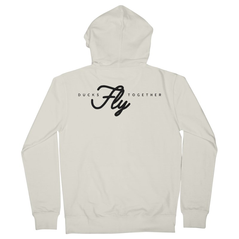 The Mantra Women's French Terry Zip-Up Hoody by The Quack Attack
