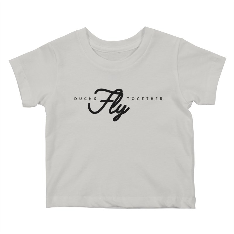 The Mantra Kids Baby T-Shirt by The Quack Attack