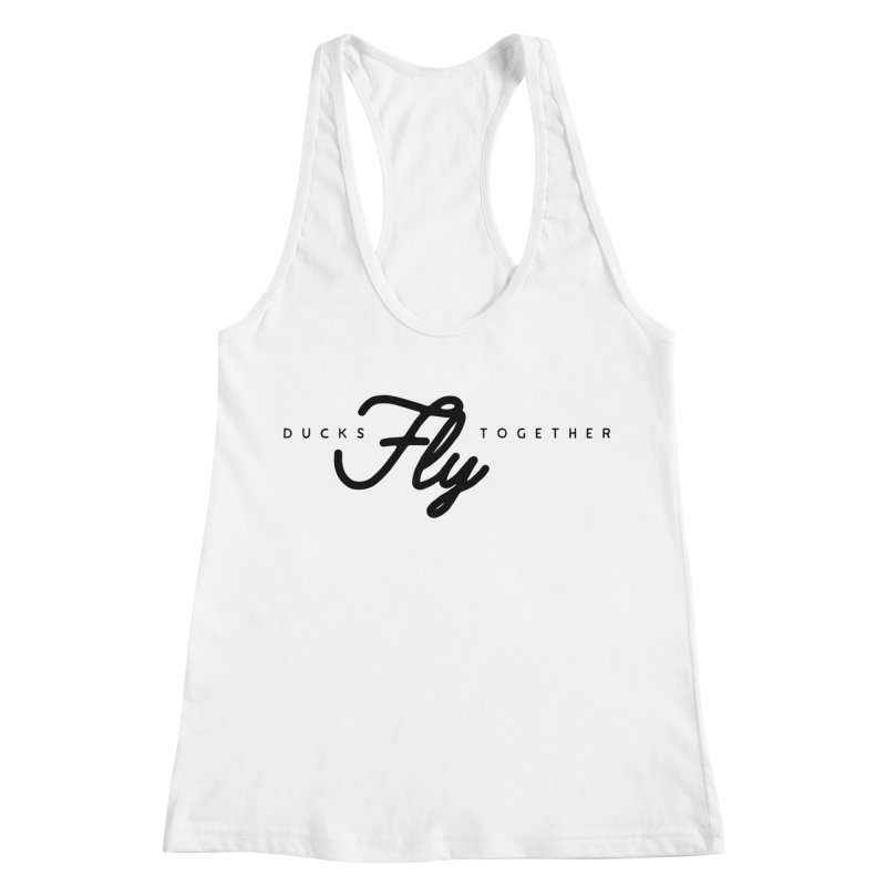 The Mantra Women's Racerback Tank by The Quack Attack