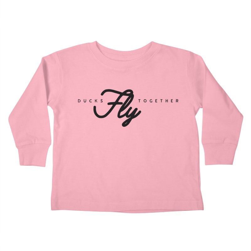 The Mantra Kids Toddler Longsleeve T-Shirt by The Quack Attack