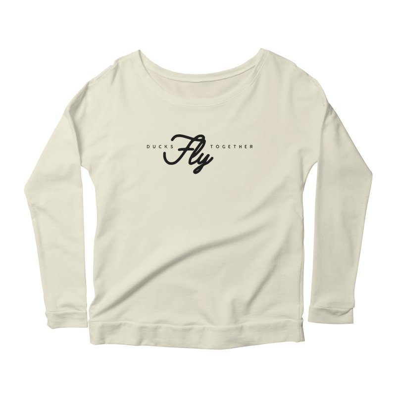 The Mantra Women's Scoop Neck Longsleeve T-Shirt by The Quack Attack
