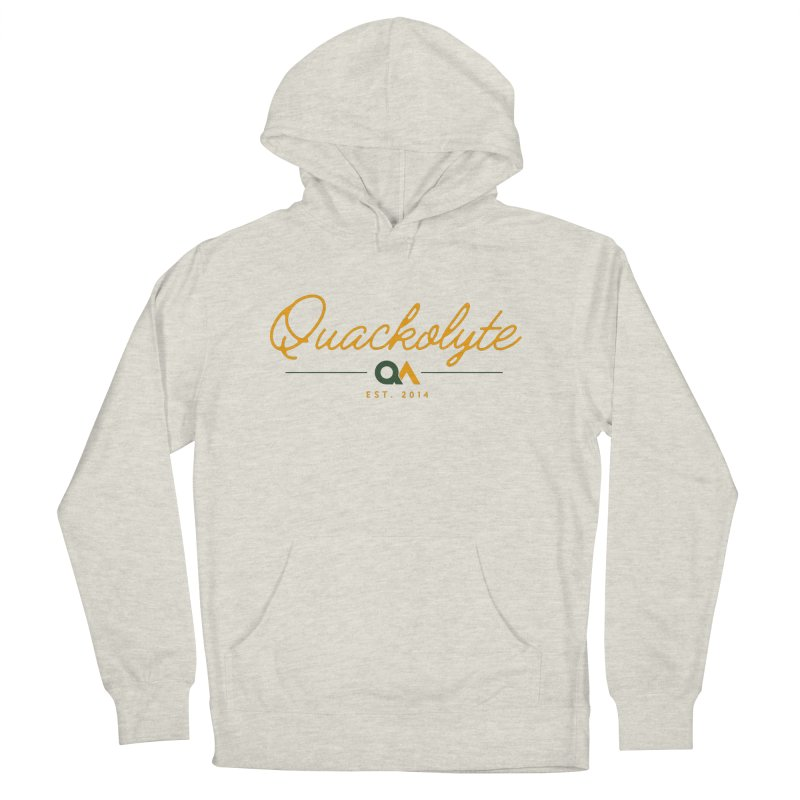 The Quackolyte Men's Pullover Hoody by The Quack Attack