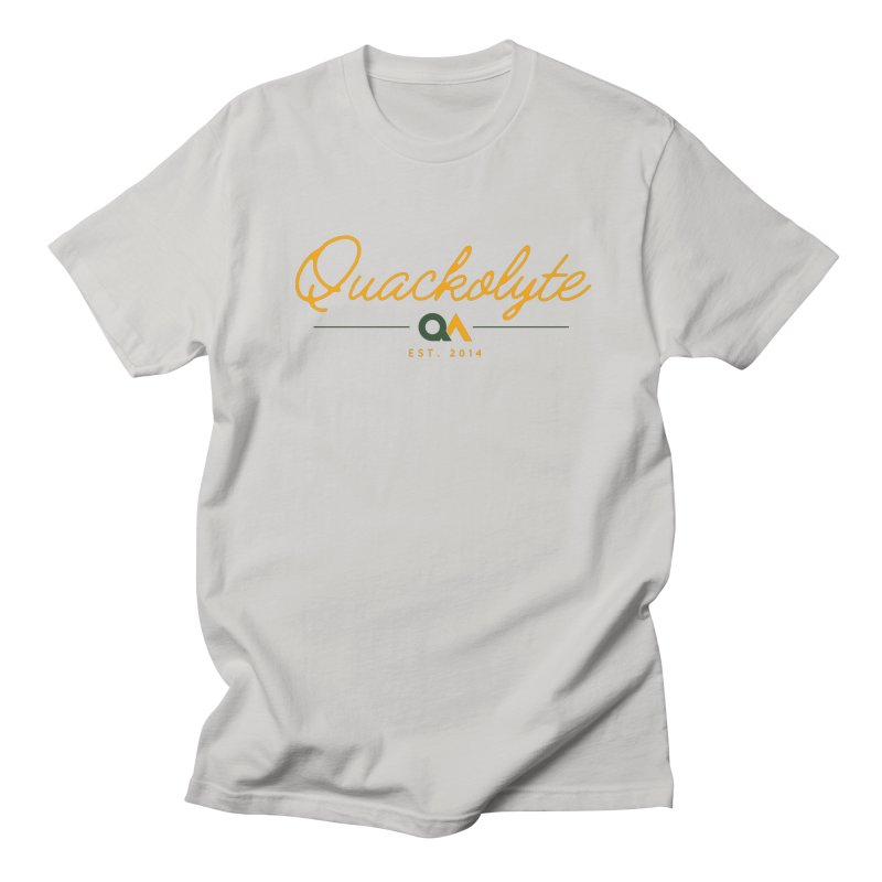 The Quackolyte Men's Regular T-Shirt by The Quack Attack
