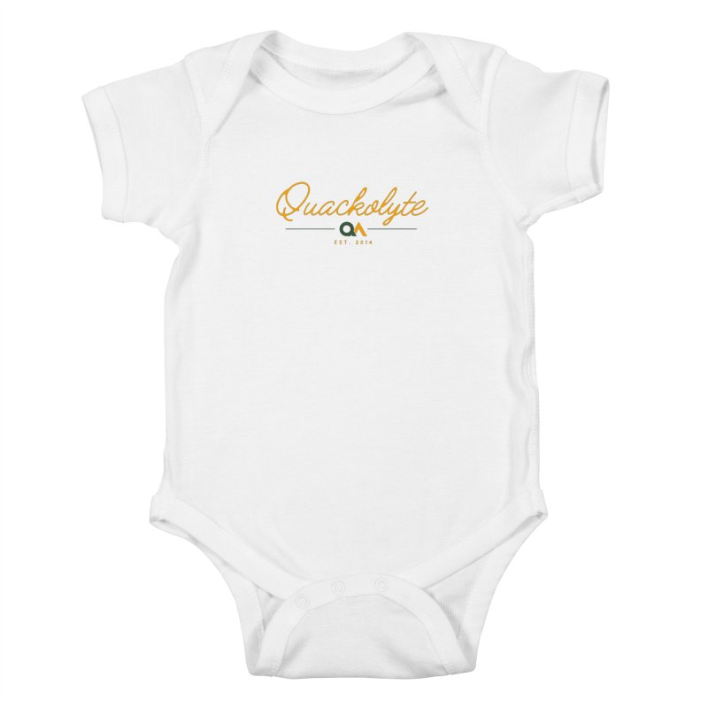 The Quackolyte Kids Baby Bodysuit by The Quack Attack