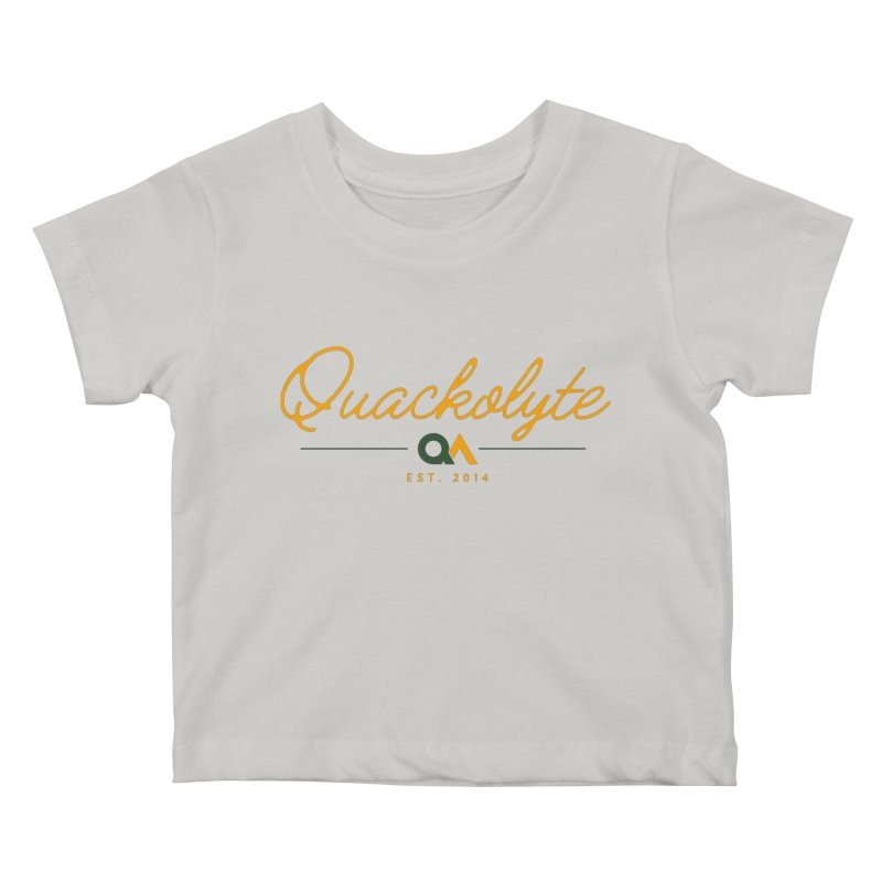 The Quackolyte Kids Baby T-Shirt by The Quack Attack